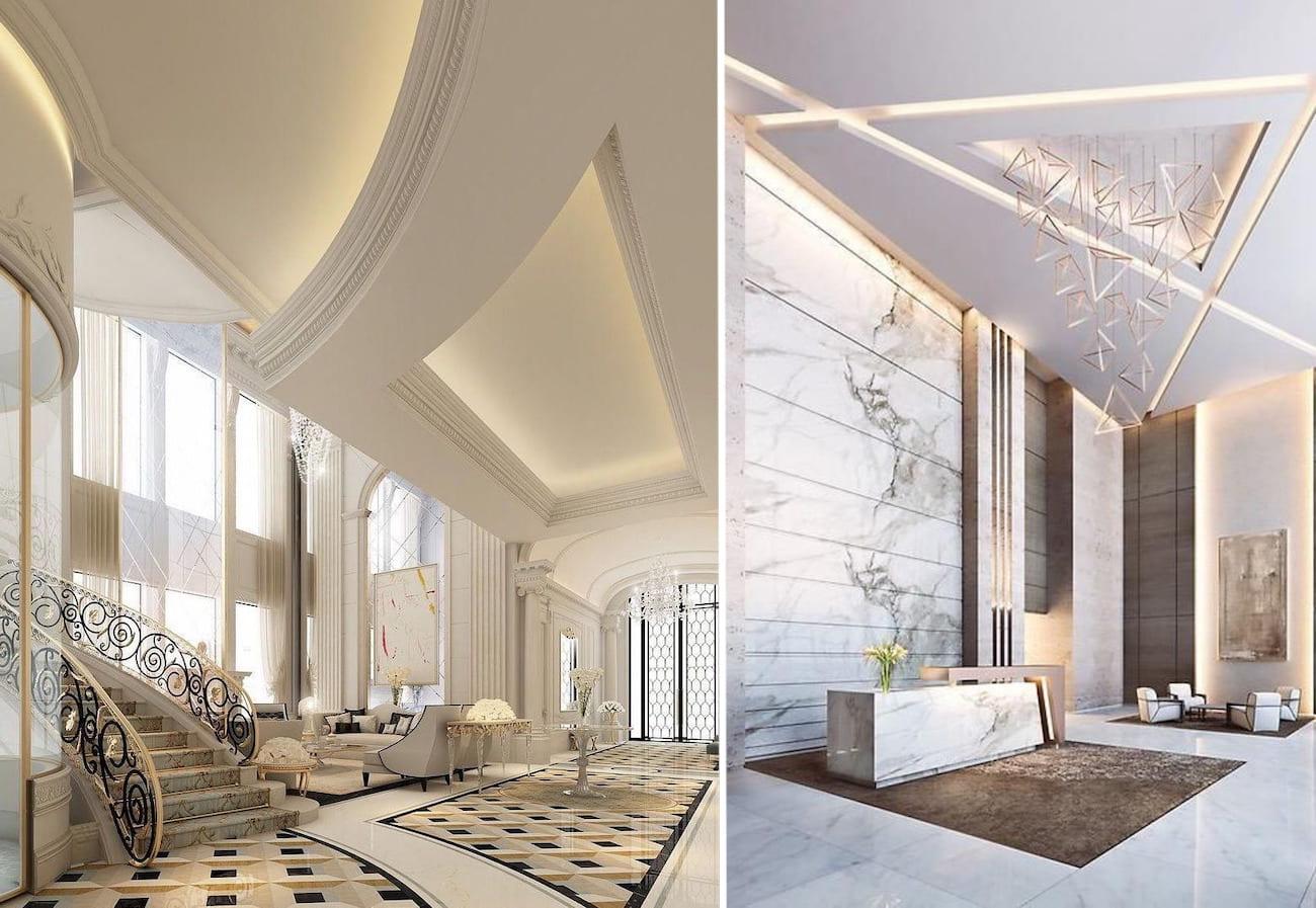 Высокие потолки в доме должны быть гордостью и достоинством