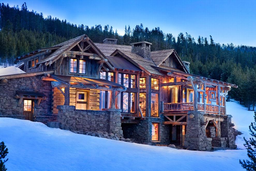 Альпийская крыша