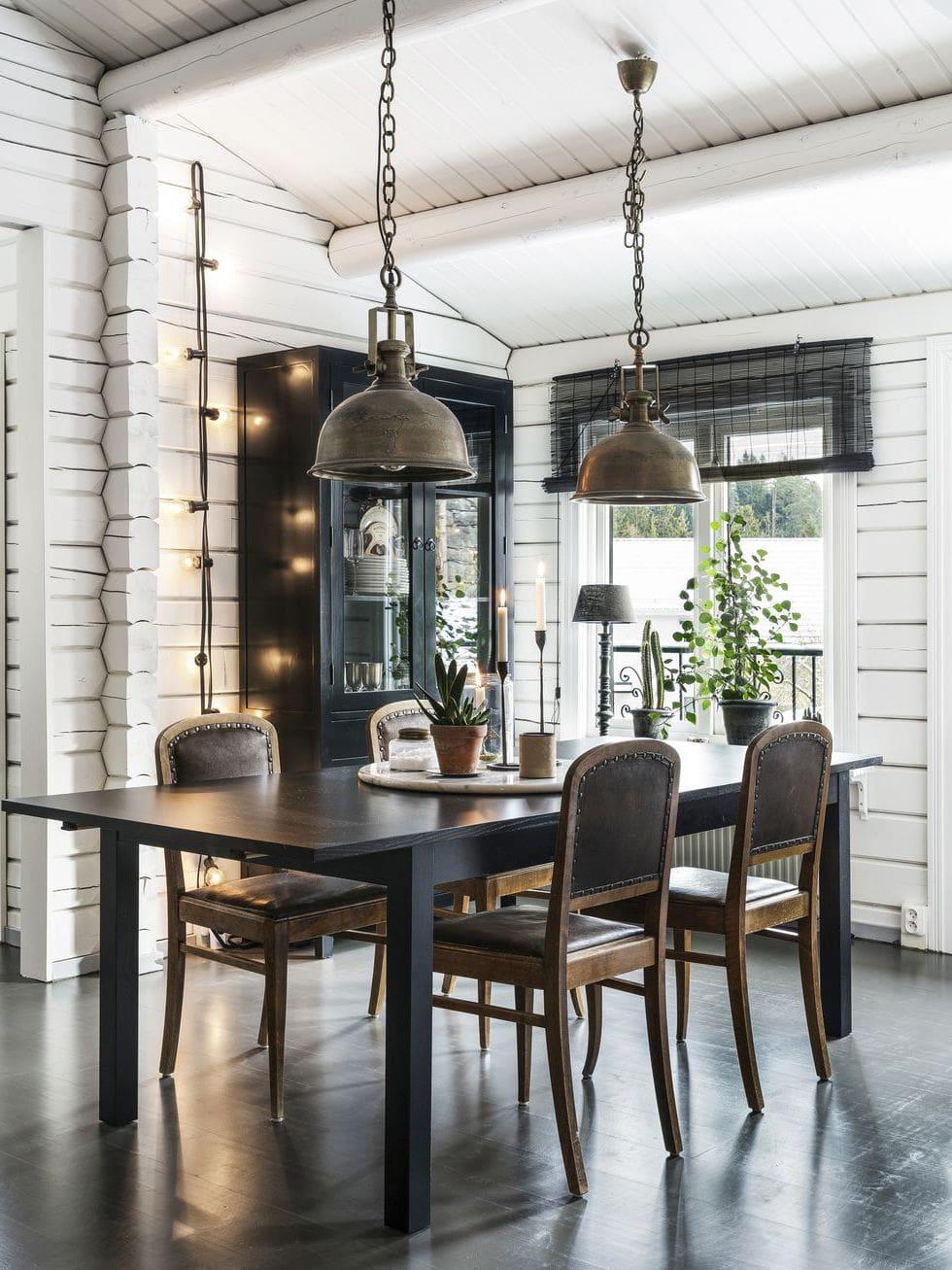 В современном интерьере найдется место для ретро мебели