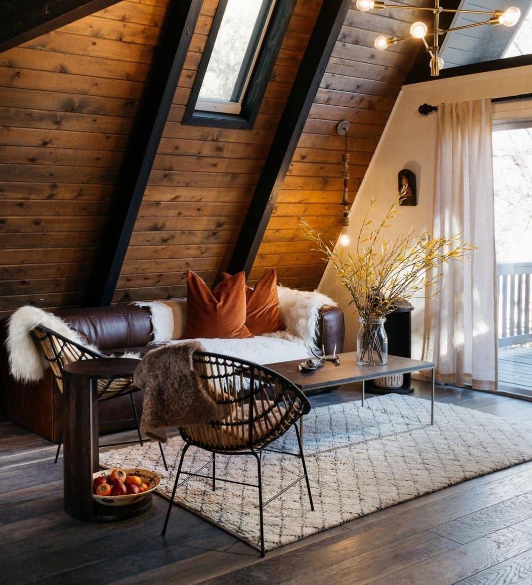 Теплые оттенки создают необходимый уют в помещении