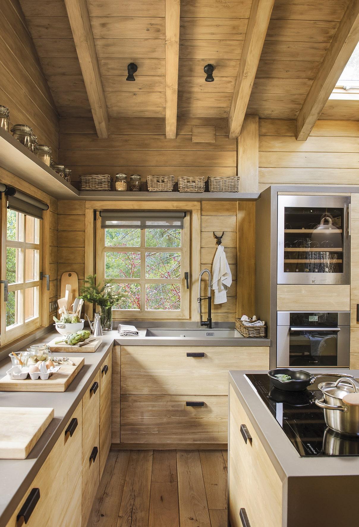 Обилие естественного освещения в оформлении кухни - первое, что необходимо учесть