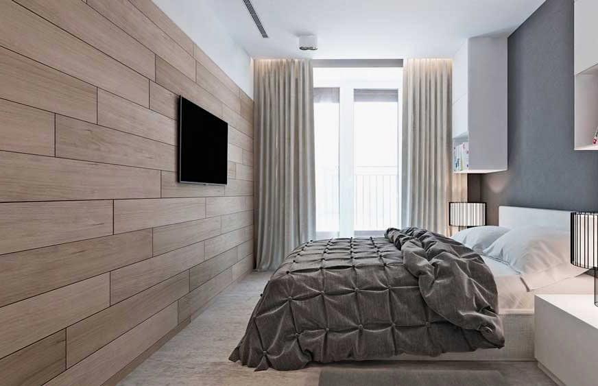 Используя ламинат в качестве материала для отделки стен можно добиться колоссального результата
