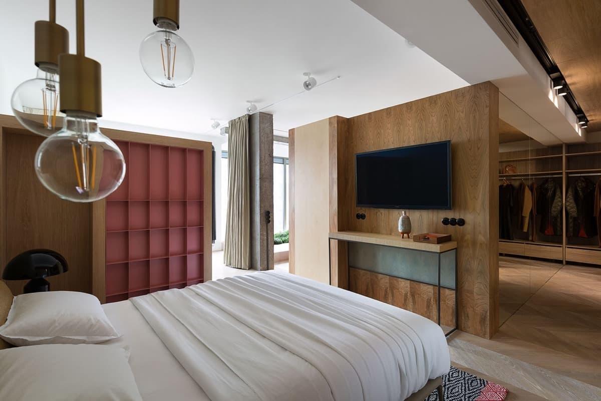 Ламинат на стене играет важную роль в интерьере любой комнаты. В первую очередь он подчеркивает спокойную, дружескую атмосферу уюта и комфорта