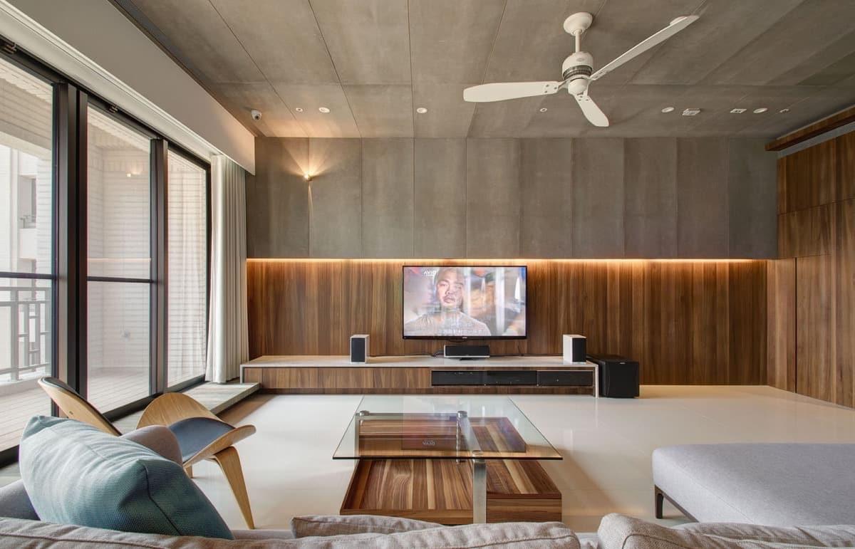 Цвет и фактура натурального дерева в интерьере преобразит любую комнату