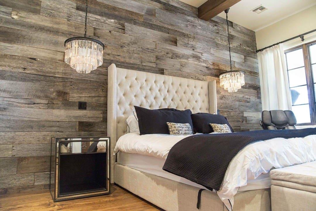 Лаконичная эстетика спальной комнаты в загородном доме