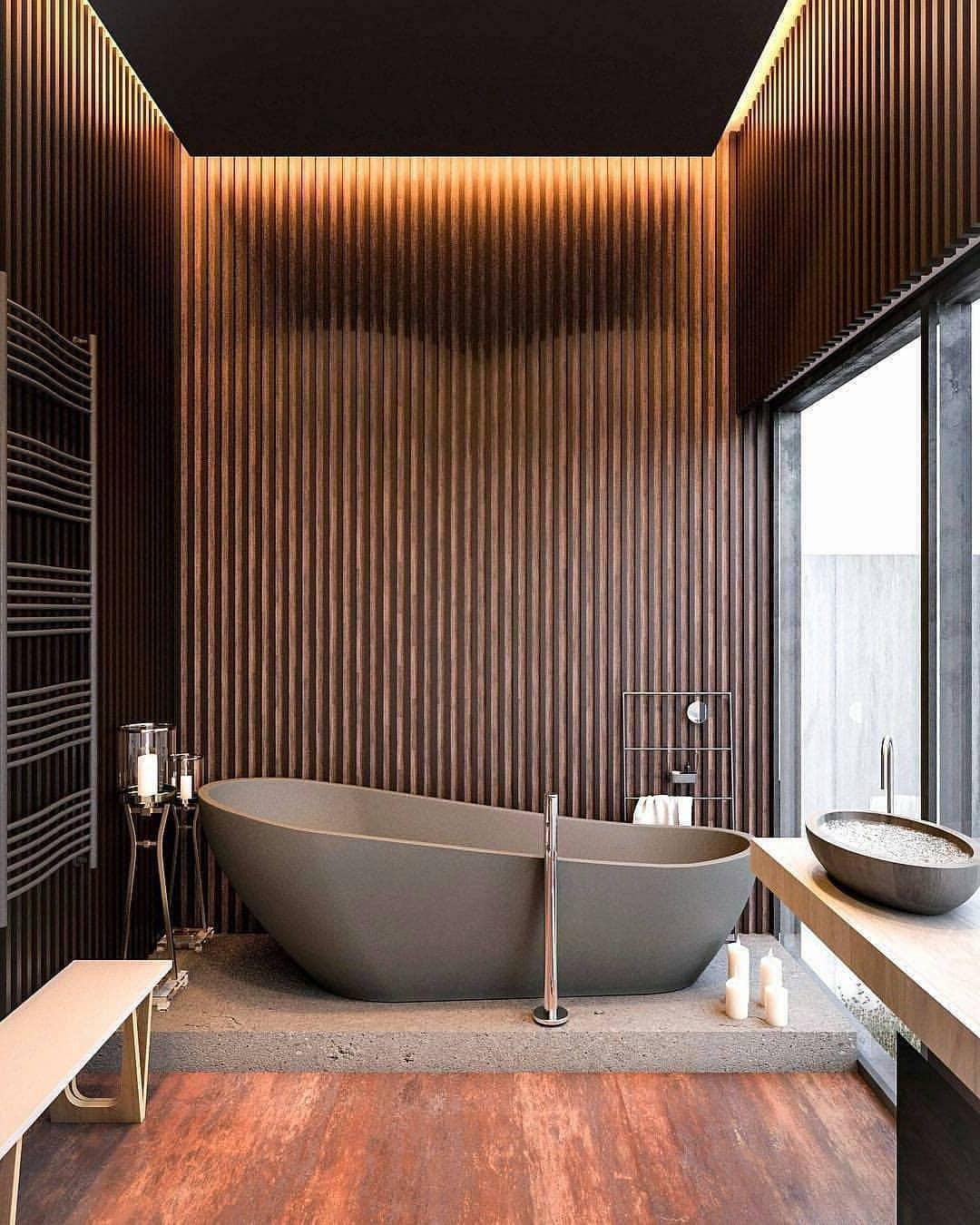 """Дизайнерский """"Лофт"""" ванной комнаты"""