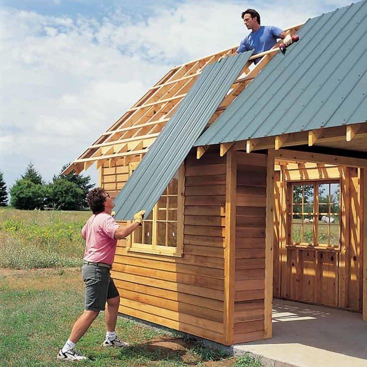собственной как построить дом своими руками проекты фото квадратный