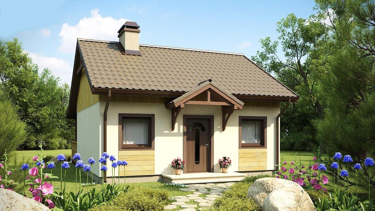 Любой домик можно сделать стильным и комфортным, если вложить в него всю душу