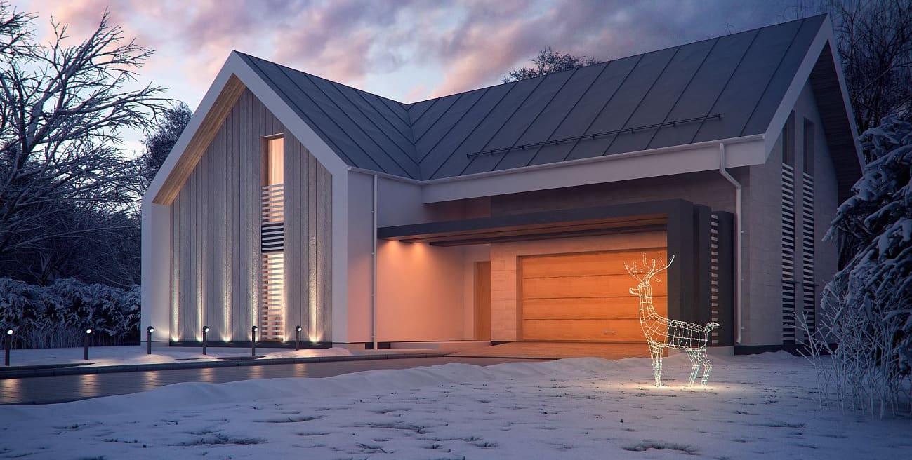 Жилой дом в скандинавском стиле
