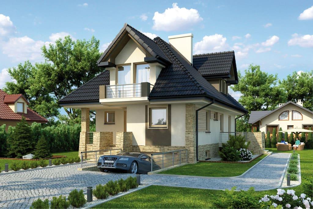 Предусмотреть гараж под домом лучше на стадии индивидуального проектирования