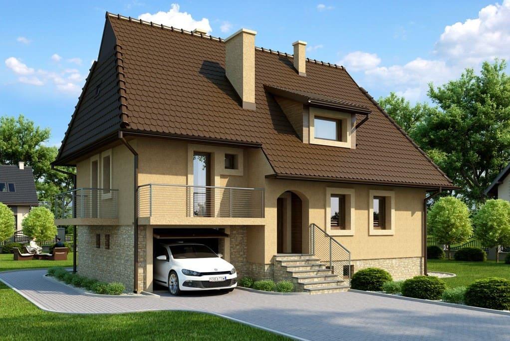Возведение жилого пространства над гаражом с функциональной планировкой