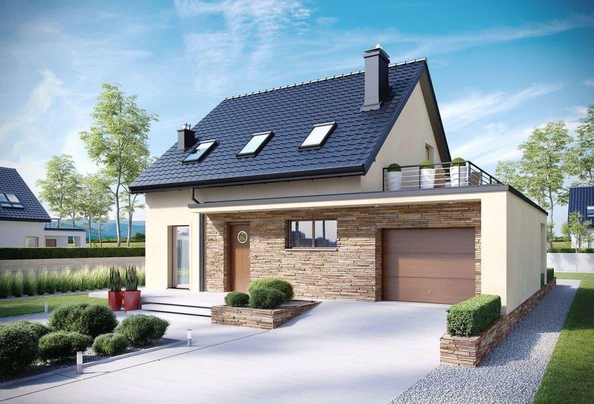 Обустройство террасы над гаражом – отличный вариант использования плоской крыши