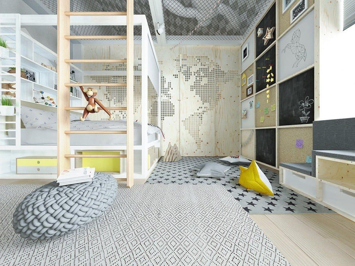 детская комната фото 56