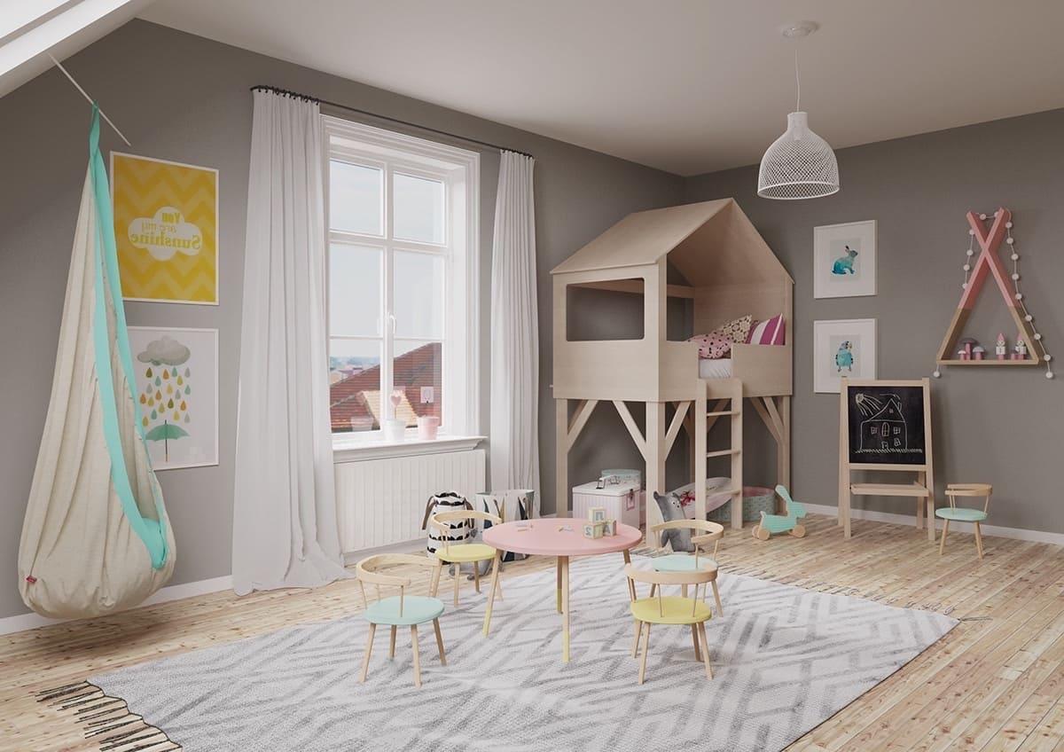 детская комната фото 49