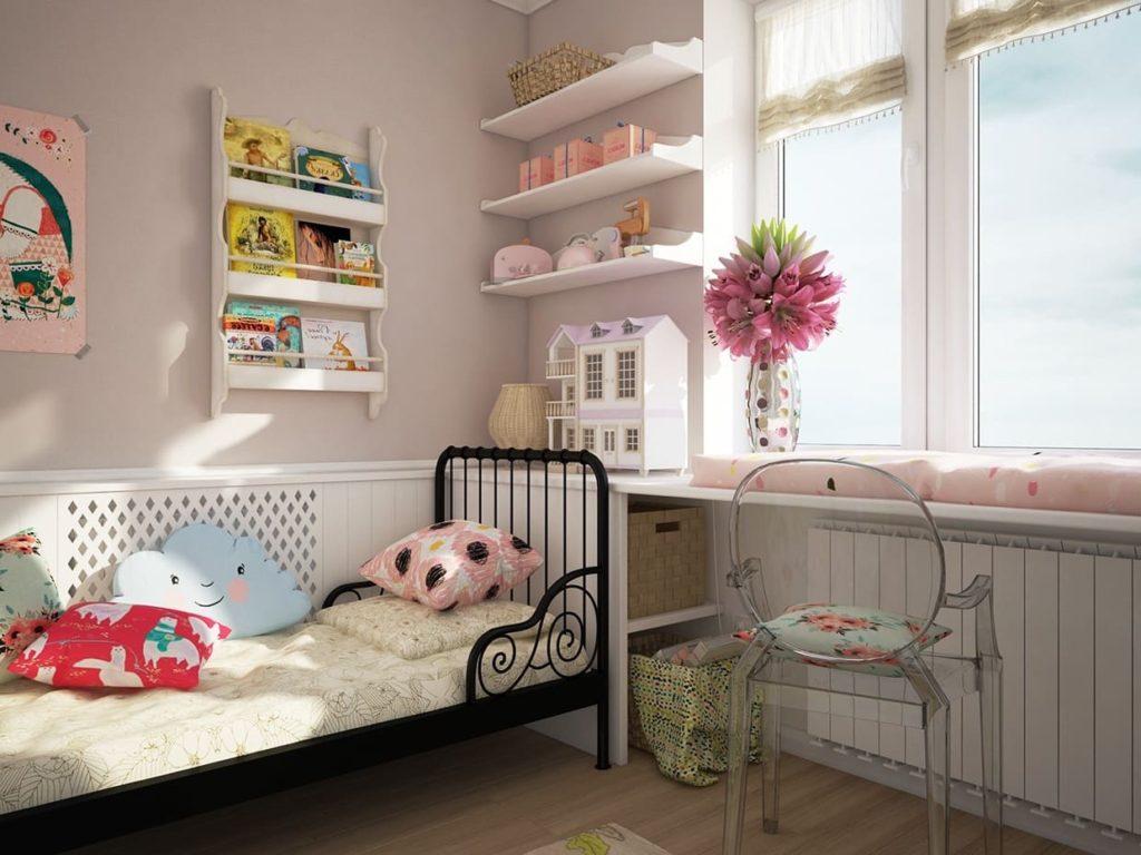 детская комната фото 74