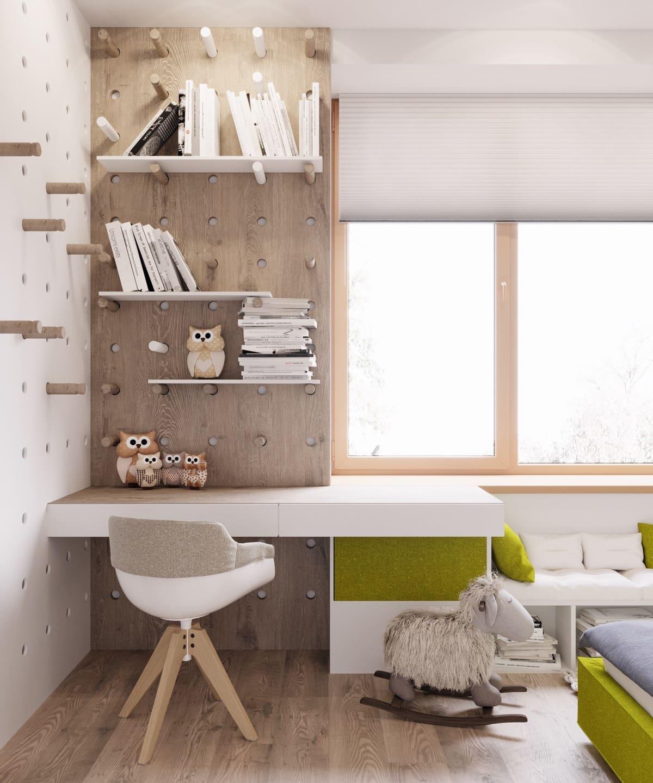 Оживит и разнообразить интерьер детской комнаты помогут различные элементы декора, в том числе и игрушки