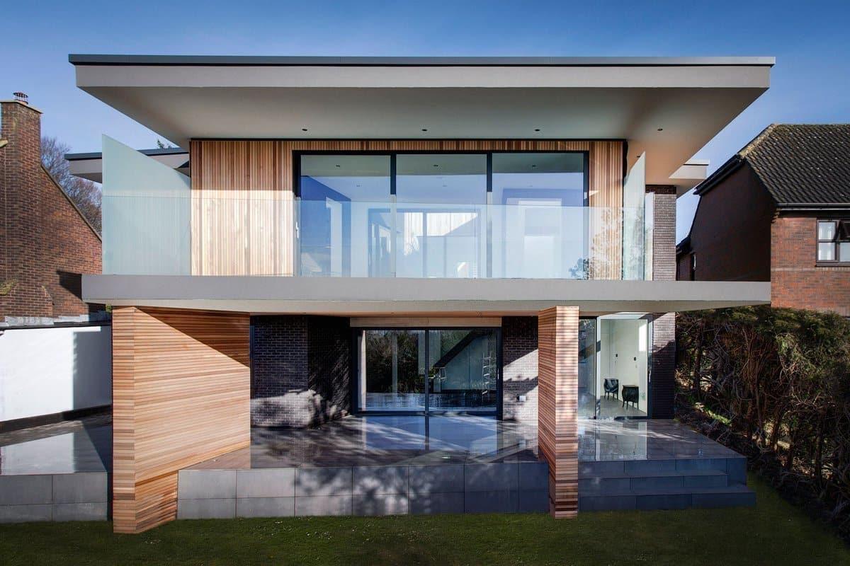 дом с плоской крышей проект фото 11
