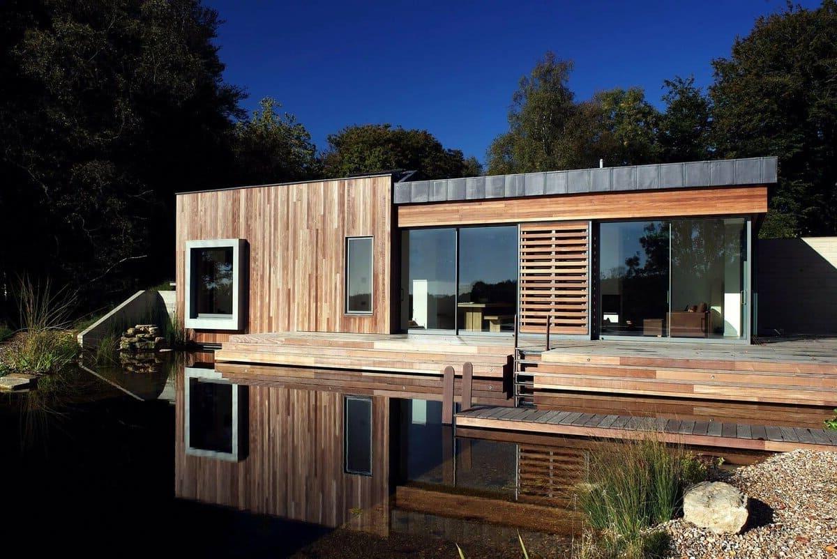 дом с плоской крышей проект фото 10