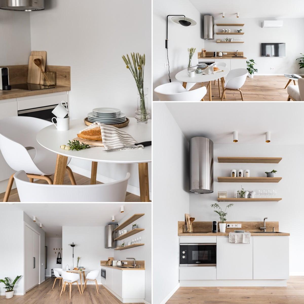 Кухня в скандинавском стиле – эталон гармонии и респектабельности