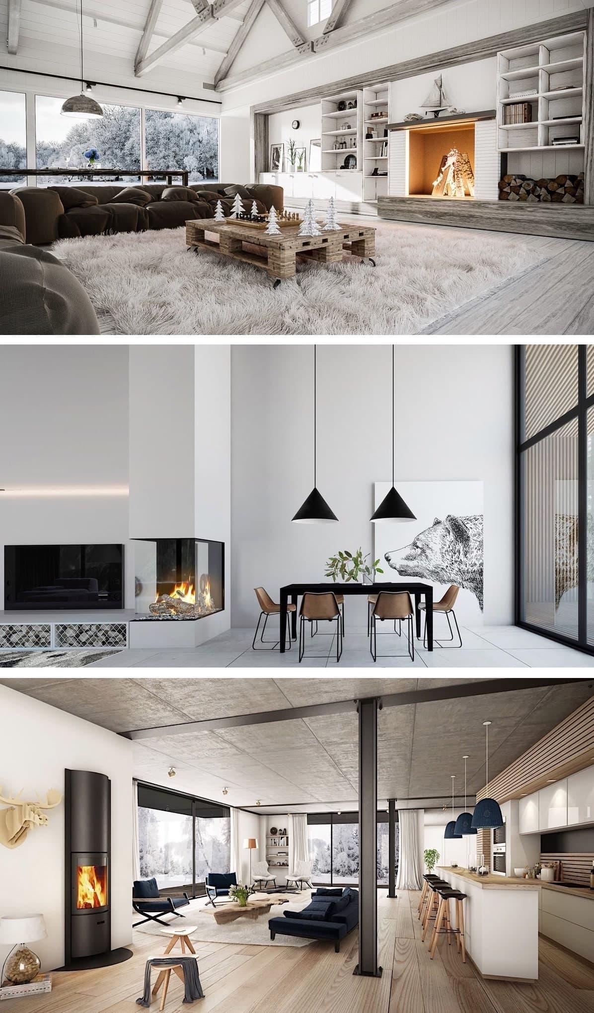 Любой дизайнер знает, что камин – лучший декоратор интерьера