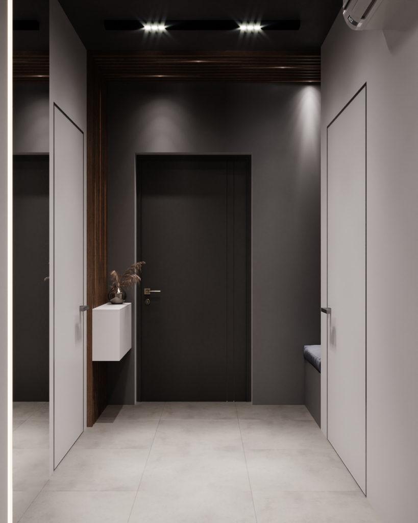 серый цвет в интерьере фото 5