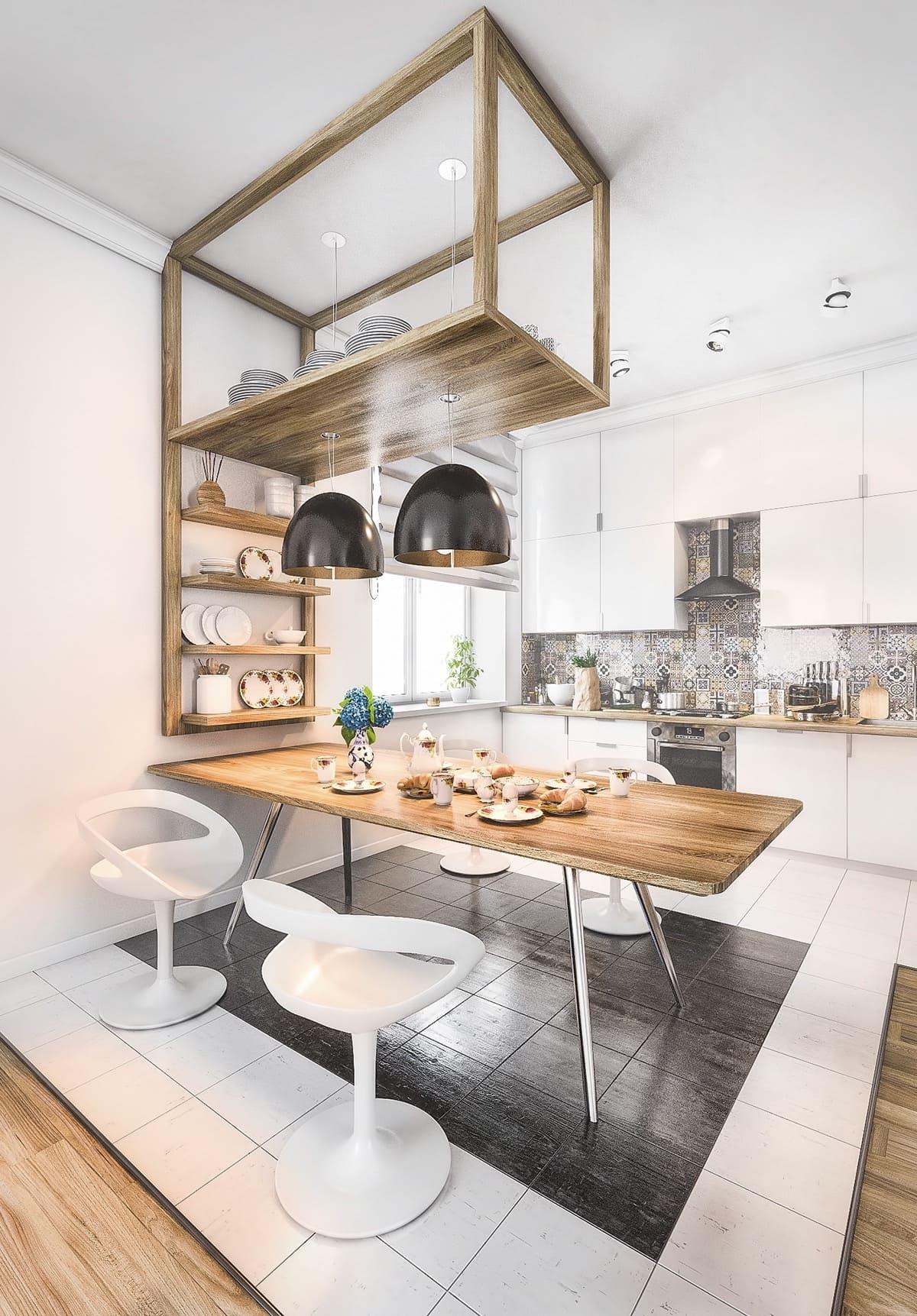 Стол, на котором происходит приготовление пищи, должен одновременно быть надежным, прочным и вместительным