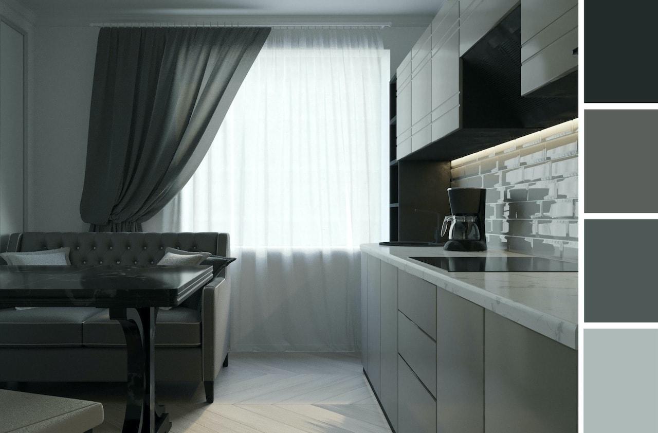шторы для кухни фото 1
