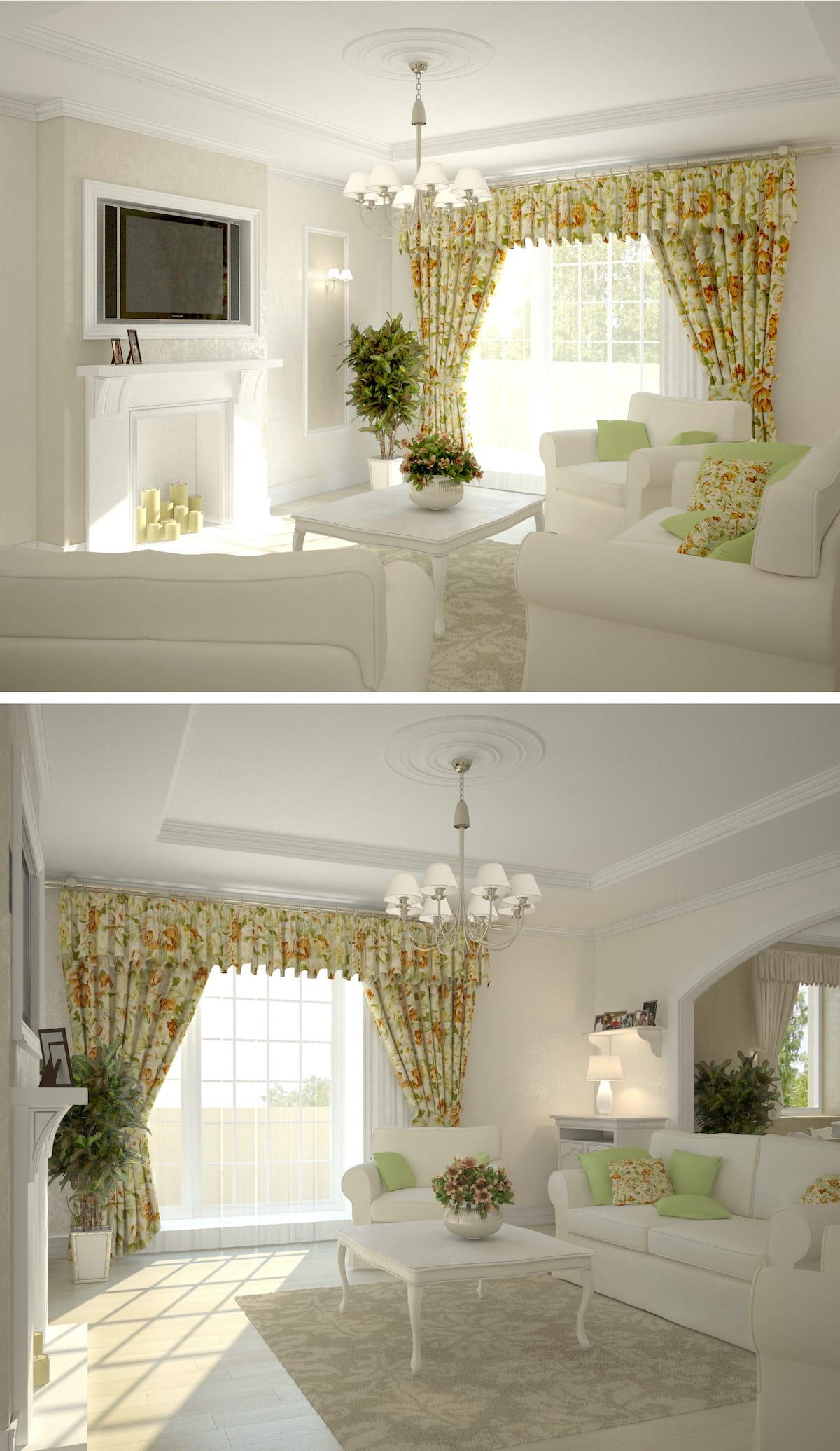 шторы с красивым дизайном фото 3