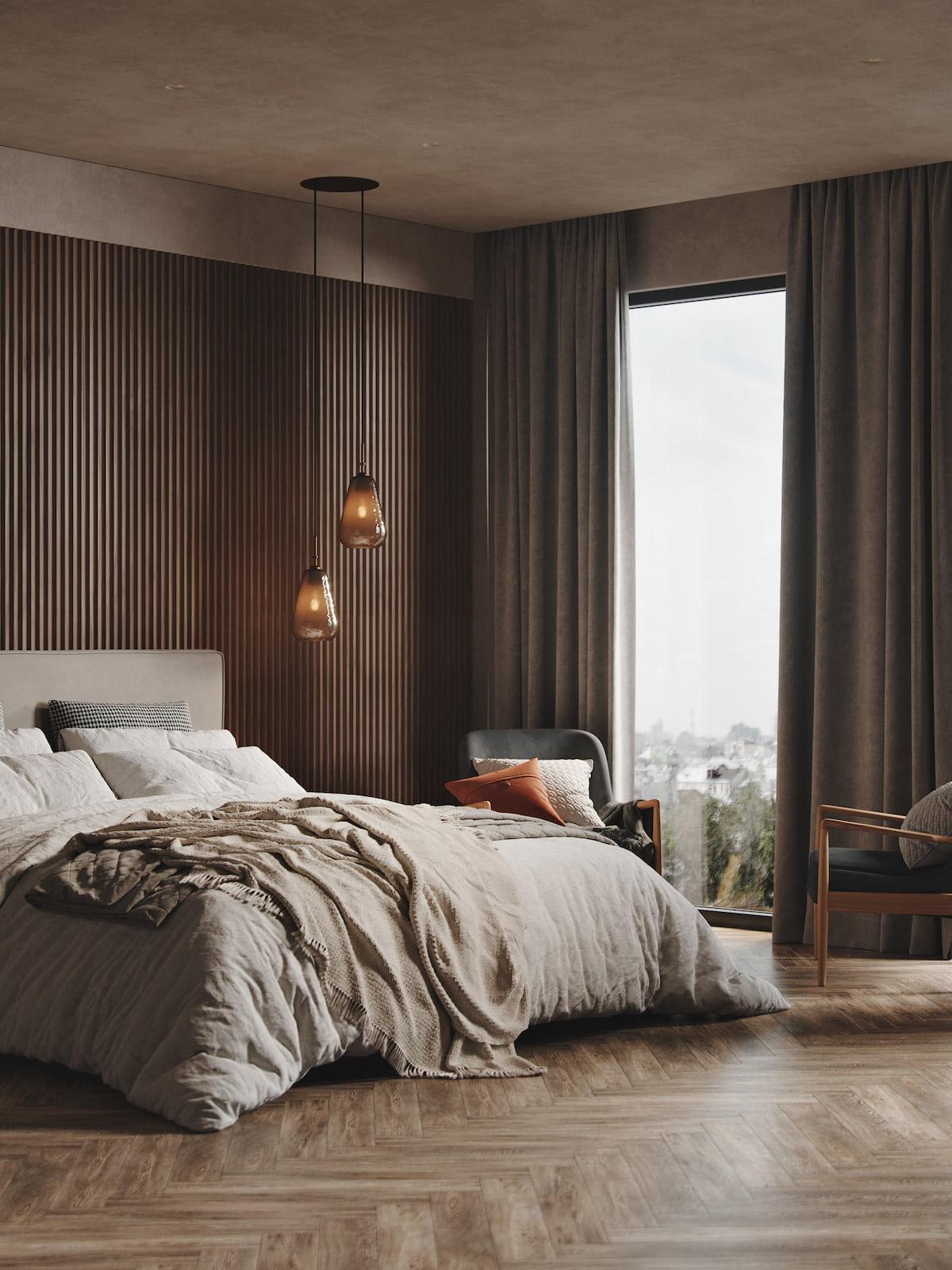 шторы для спальни фото 1