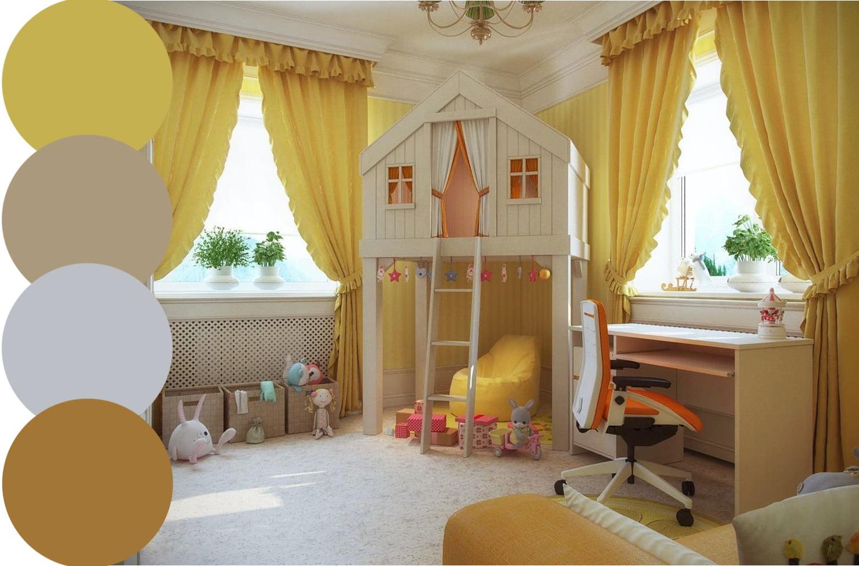 шторы в детскую фото 2