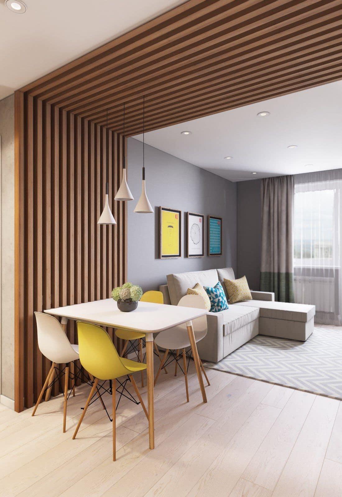 интерьер современной гостиной 15