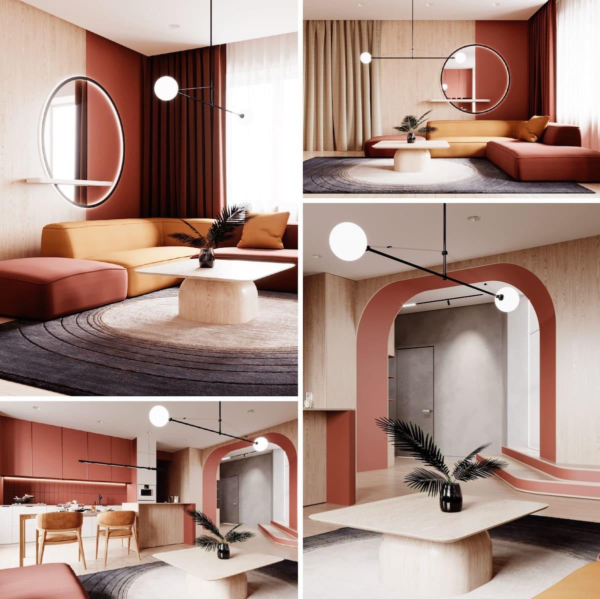 модный дизайн интерьера фото 56