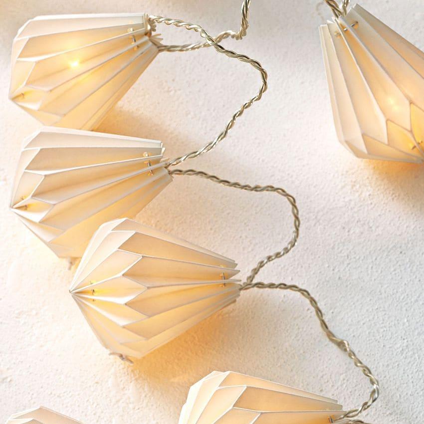 Новогодняя световая гирлянда с оригинальным дизайном