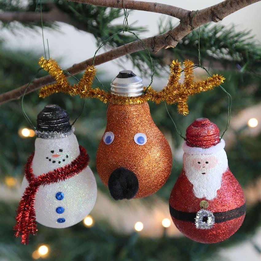 Новогодние игрушки сделанные своими руками придадут празднику особую атмосферу