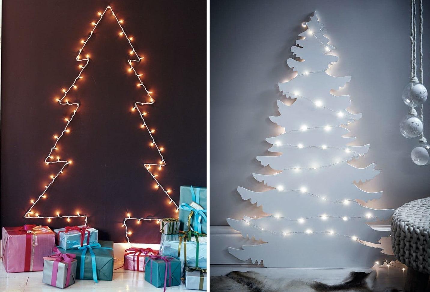 Чтобы создать атмосферу новогоднего праздника, покупать живую ёлку вовсе не обязательно