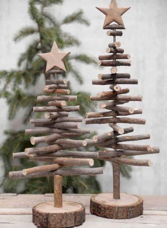 Использовать такие елочки в качестве новогоднего декора можно не один год