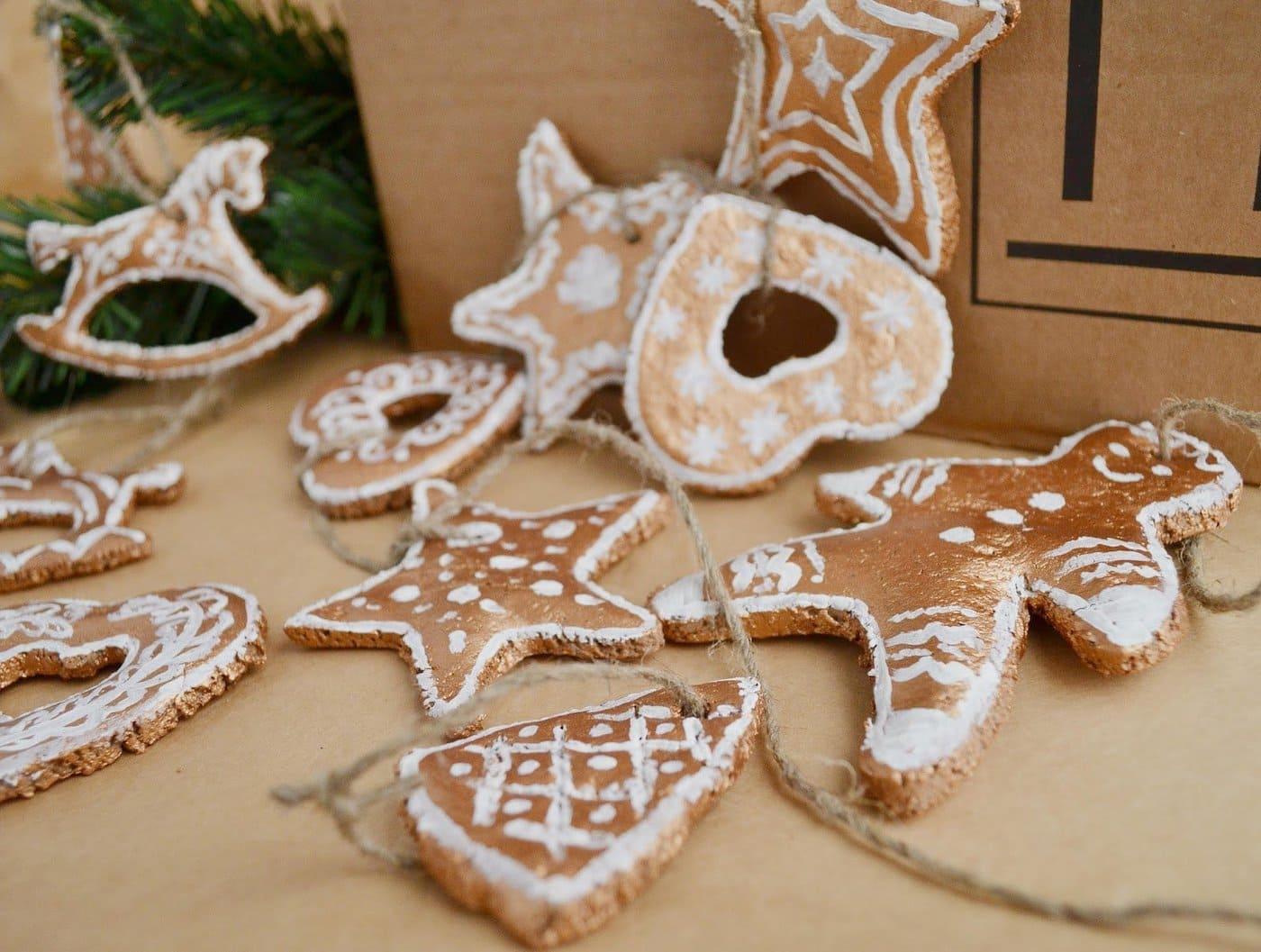 Печеньки в виде различный фигур