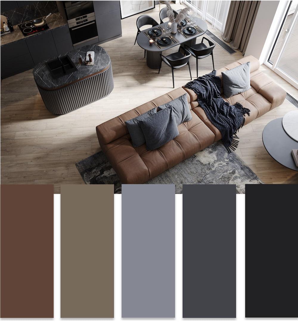 модные цвета в интерьере фото 19