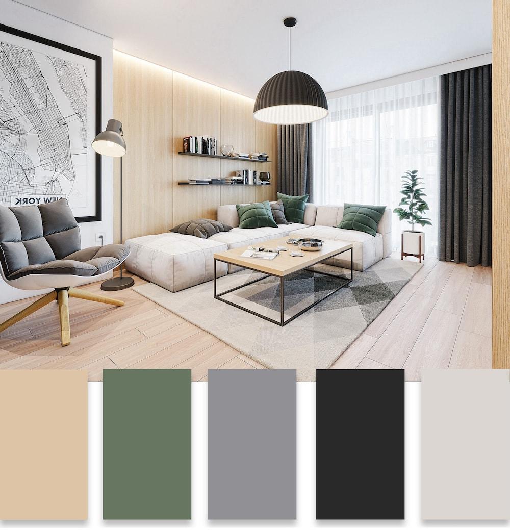 модные цвета в интерьере фото 21