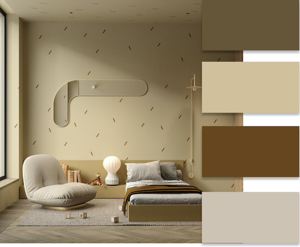 Используя бежевый цвет в оформлении интерьера можно достичь максимальной гармонии пространства и света