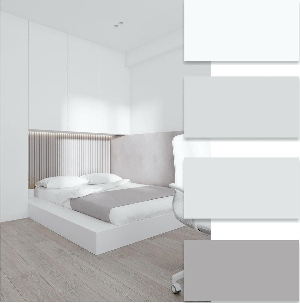 Белый цвет популярен во многих интерьерных стилях, но чаще всего его применяют в стиле минимализм