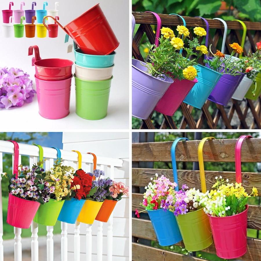Яркий и стильный садовый декор