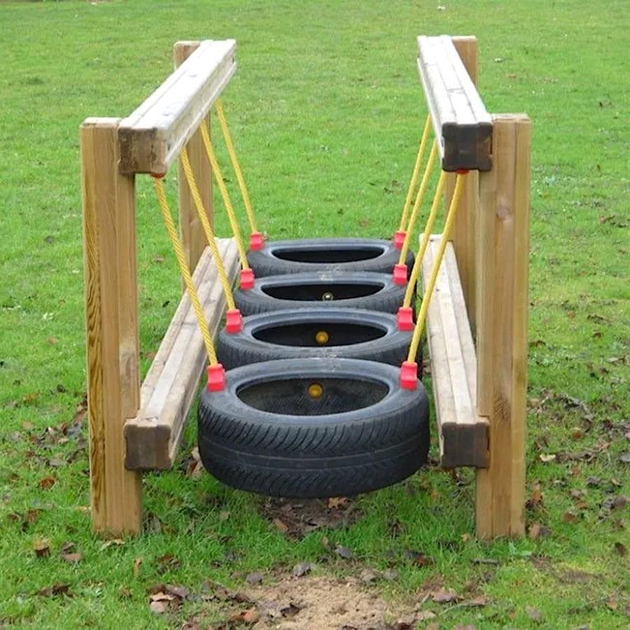 Полоса препятствий для детской площадки