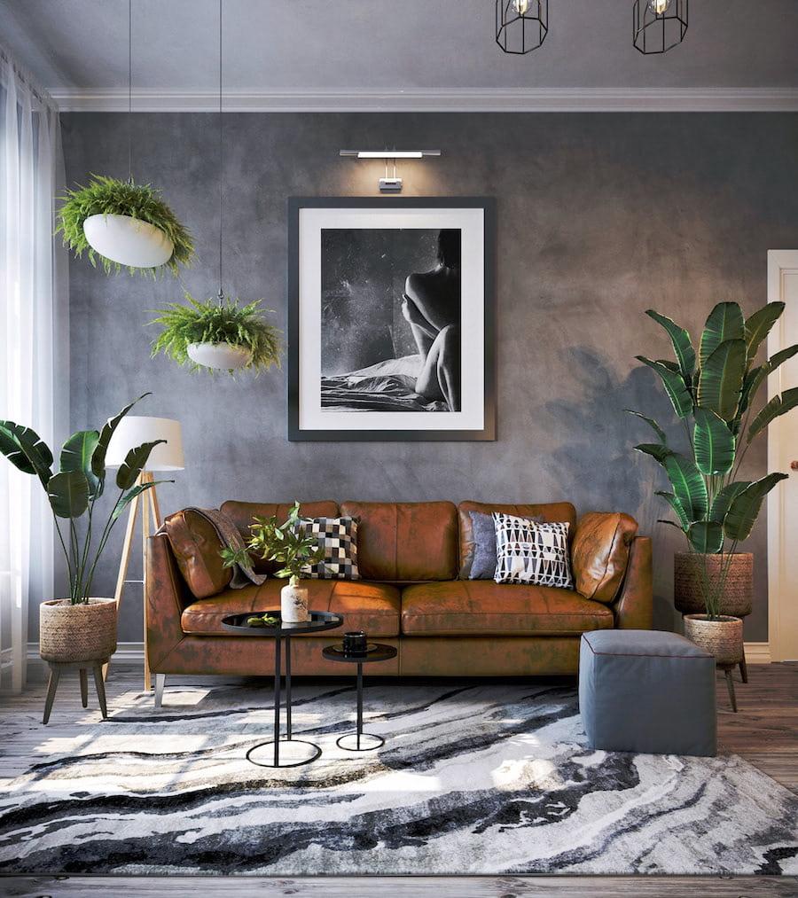 комнатные растения в интерьере фото 31