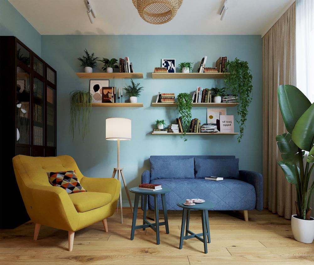 комнатные растения в интерьере фото 6