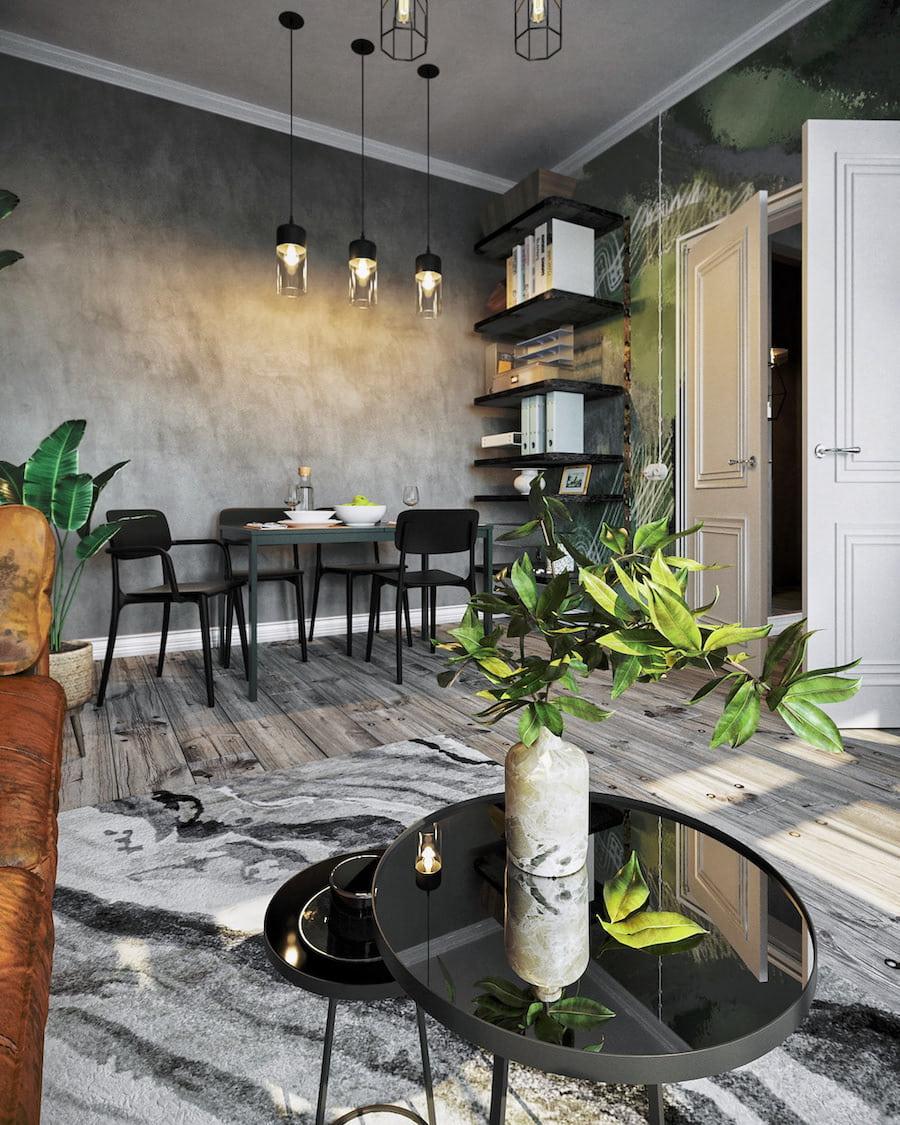 комнатные растения в интерьере фото 5
