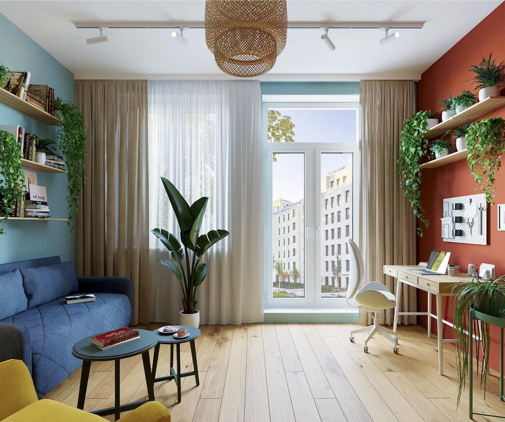 комнатные растения в интерьере фото 52