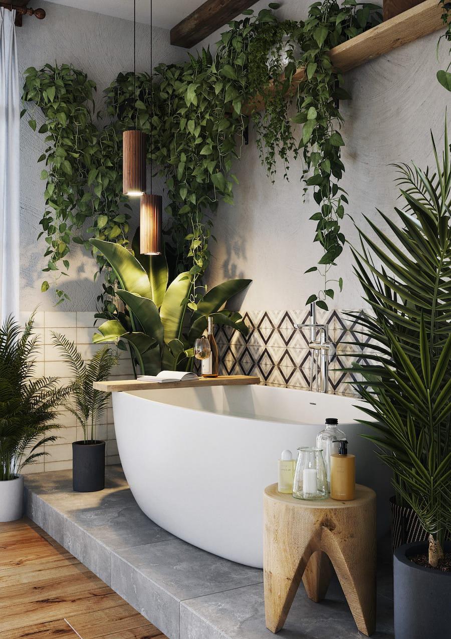 комнатные растения в интерьере фото 44