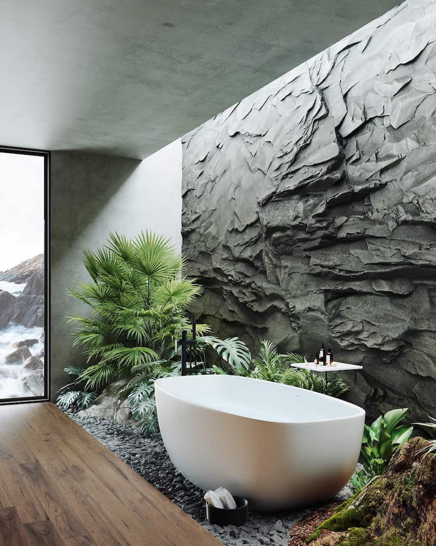 комнатные растения в интерьере фото 45