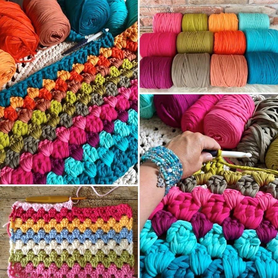 Чтобы связать своими руками коврик, понадобятся базовые навыки вязания